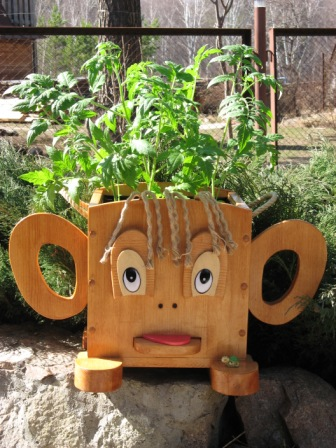 Горшок кашпо вазон ева садовий
